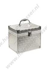 Efalock Beauty case silver plate