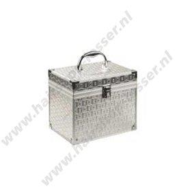 Beauty case silver plate