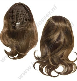 Balmain Half wig 55cm London 100%memory hair