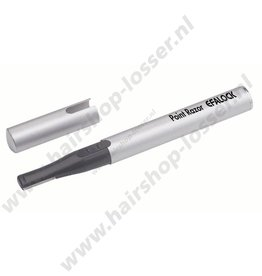 Efalock point razor zilver