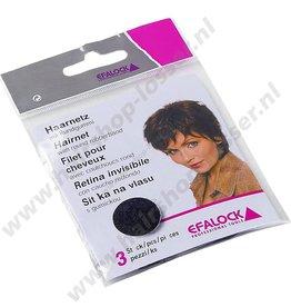 Efalock Haarnet donker bruin