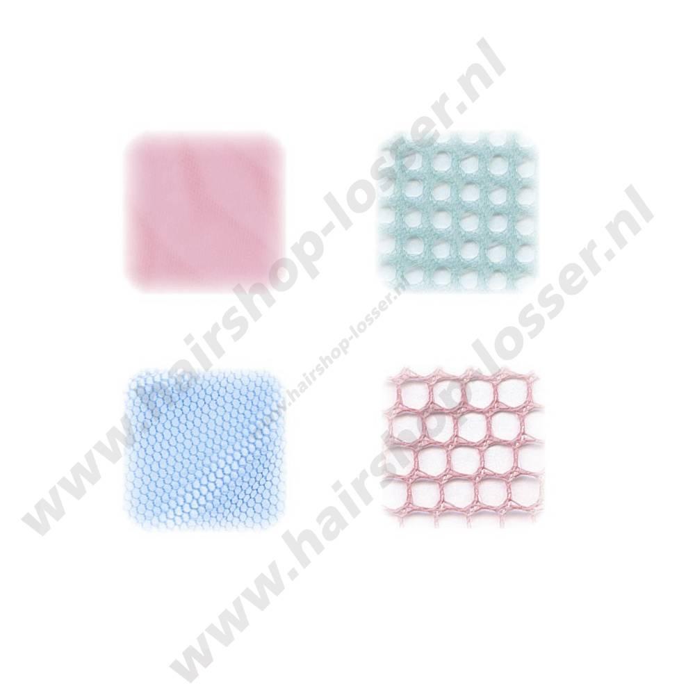 Efalock Haarnet driekant azuurblauw