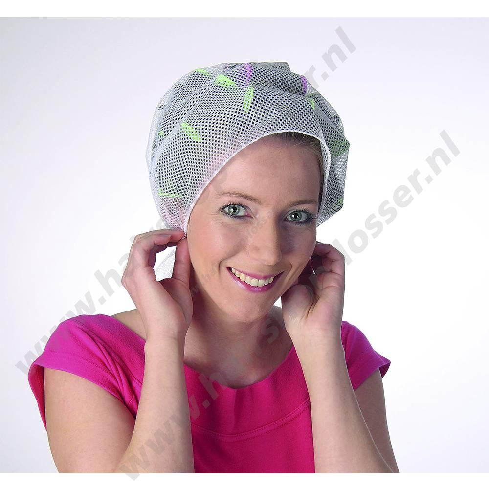 Efalock Haarnet driekant wit