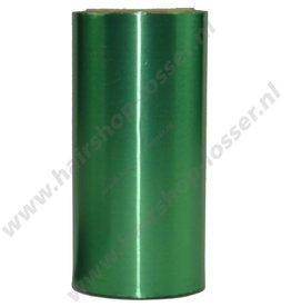 Aluminium folie 50m x 12cm 20mu groen