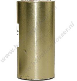 Aluminium folie 50m x 12cm 20mu goud