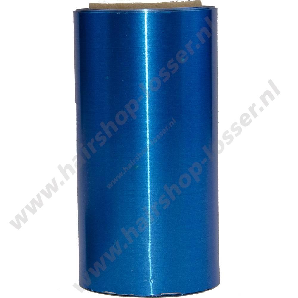Aluminium folie 50m x 12cm 20mu blauw