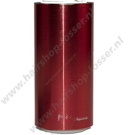 Aluminium folie 50m x 12cm 20mu rood