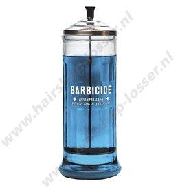 Huismerk Barbicide desinfectieglas