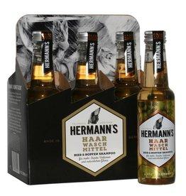 Huismerk Justus Hermanns bier shampoo, volume en glans 250ml sixpack