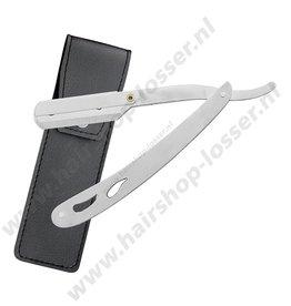 Huismerk Dr. Sha houten straight razor mod. 3 steel