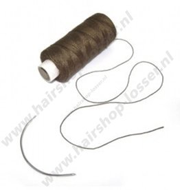 Balmain Soft blend weaving thread brown