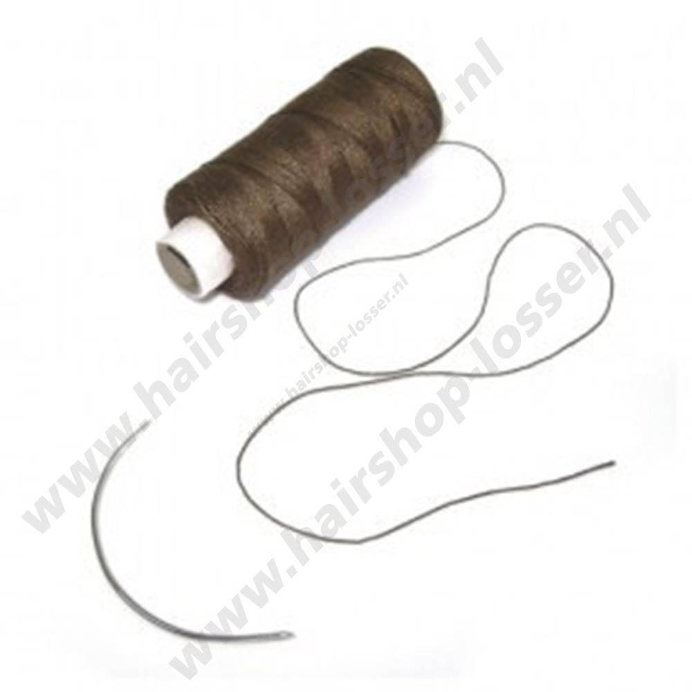 Balmain Soft blend weaving thread brown