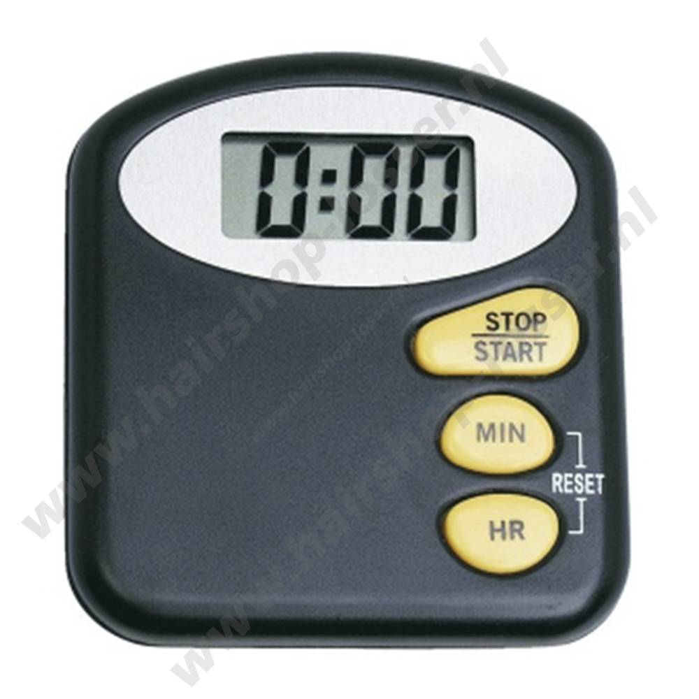 Efalock Digitale timer zwart