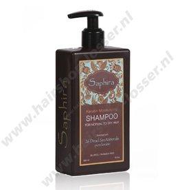 Saphira Keratin moisturizing shampoo 400ml