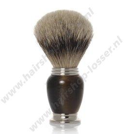 Golddachs Scheerkwast Galalith pure badger