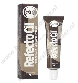 Refectocil Refectocil wimperverf 15ml natuur bruin 3