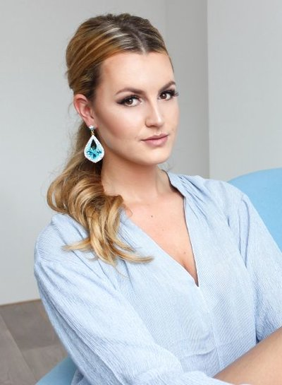 Chique Serenity statement earrings