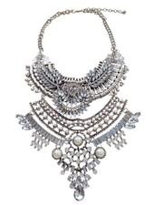 Unique vintage bohemian statement necklace