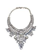 Vintage bohemian statement choker necklace