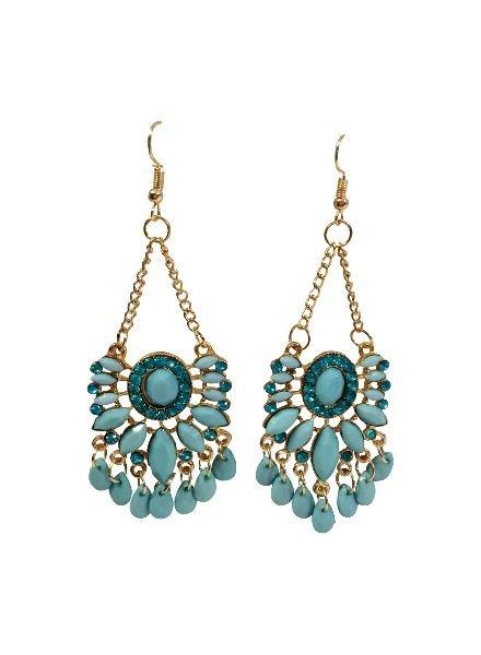 Trendy bohemian chique statement earrings