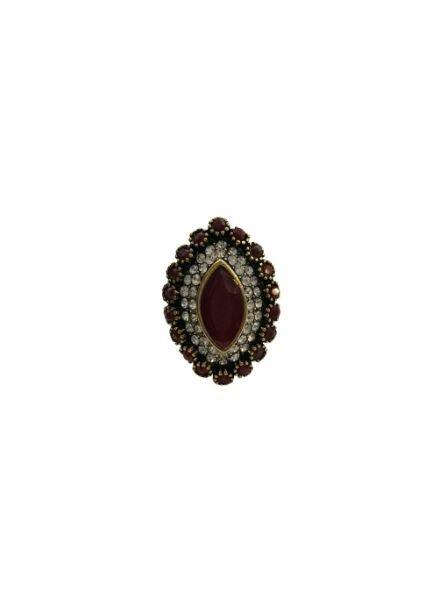 Vintage bohemian statement ring