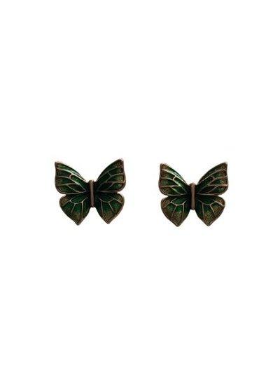 Fun butterfly statement earrings