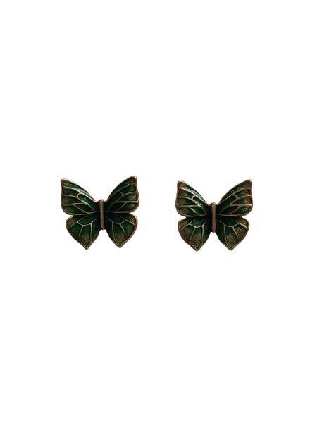 Leuke vlinder statement oorbellen