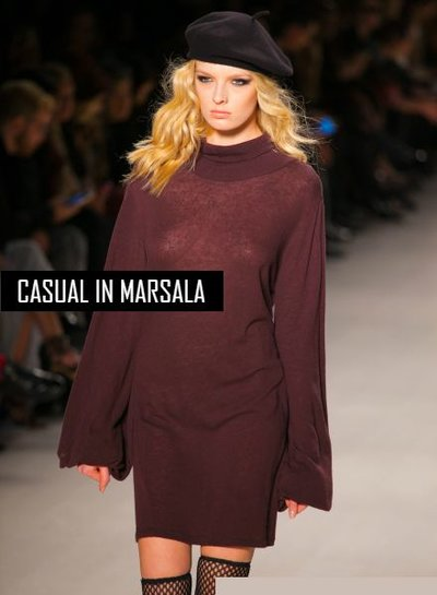 Casual in Marsala