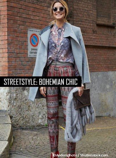 Streetstyle: Bohemian chic