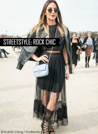 Streetstyle: Rock chic