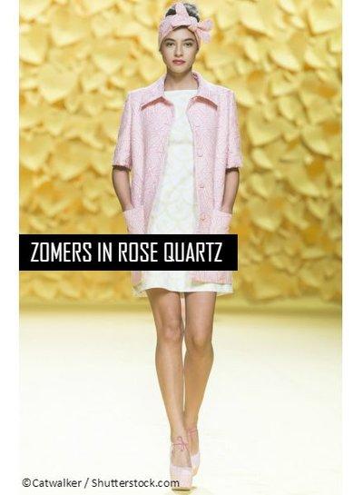 Zomers in Rose Quartz