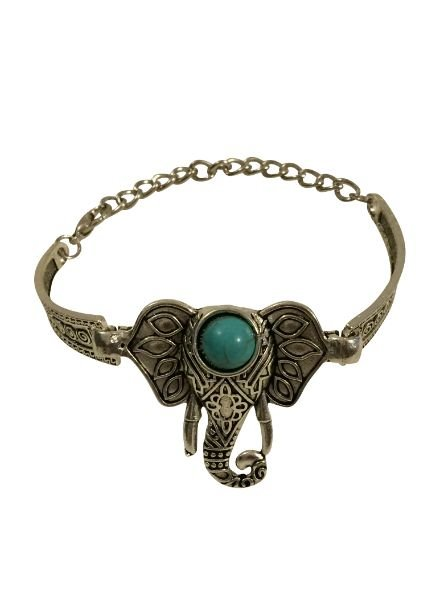 Gorgeous boho chique elephant statement bracelet