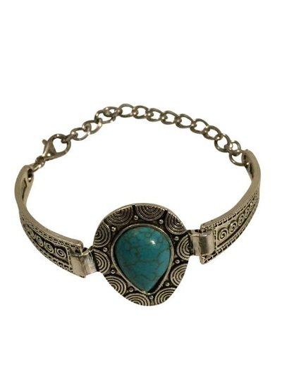Gorgeous boho chique statement bracelet model C