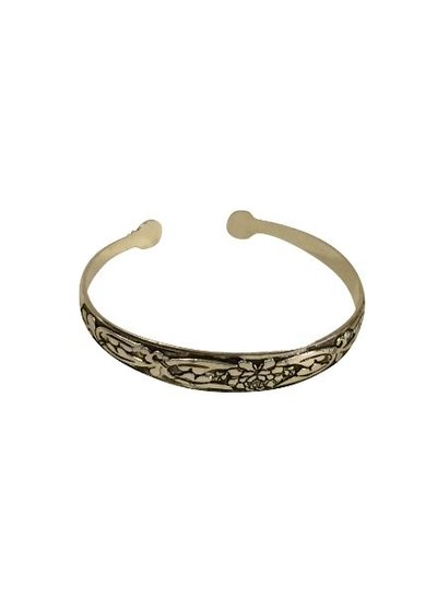 Cute vintage boho statement cuff bracelet model B