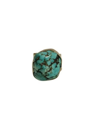 Boho chique statement ring met grote steen model A