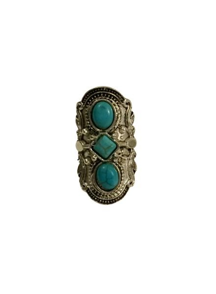 Cool Ibiza style statement ring