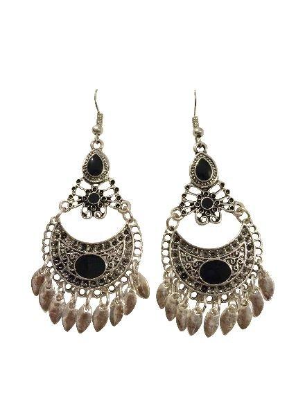 Unique vintage bohemian statement earrings