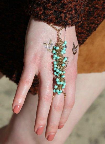 Leuke Ibiza style statement armband ring
