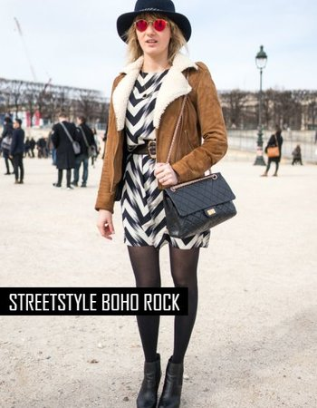 Streetstyle: Boho Rock