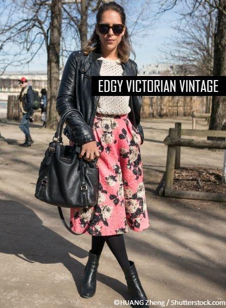 Edgy Victoriaans Vintage