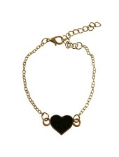 Minimalistic statement bracelet with heart