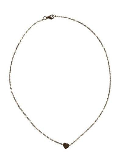 Zilverkleurige minimalistic chic statement ketting met hartje
