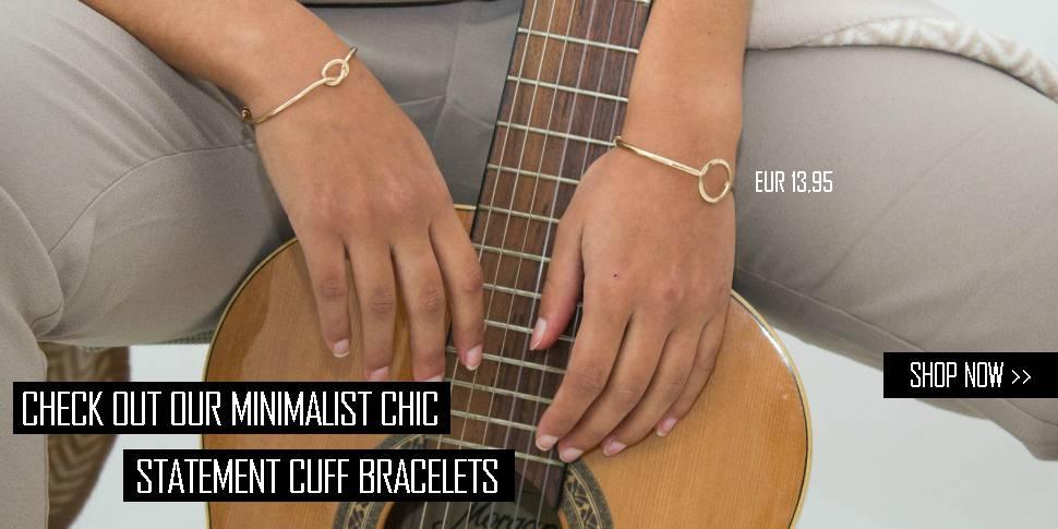 Minimalist Chic statement bracelets