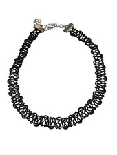 Coole twisted statement choker ketting