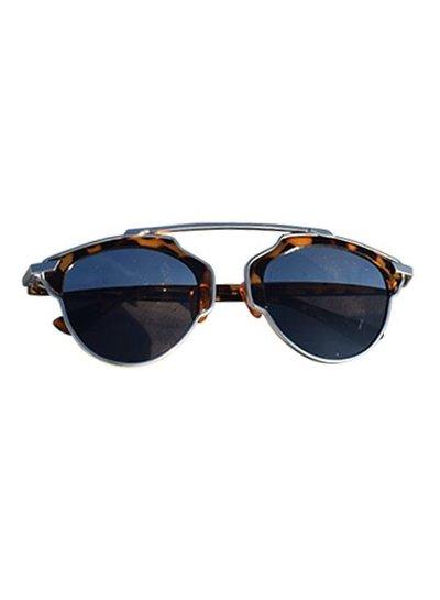 Unique urban rock sunglasses leopard with mirrored lenses