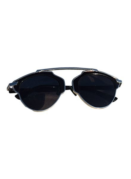 Unique urban rock sunglasses black