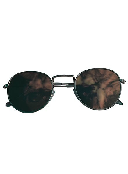 Cool urban sunglasses with pink mirrored lenses silver