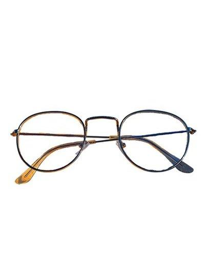 Cool urban fashion glasses gold
