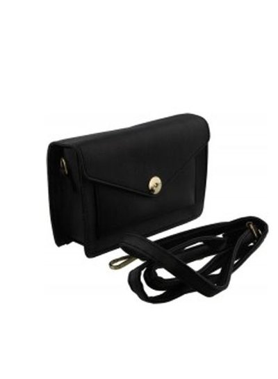 Cute minimalistic crossbody purse black