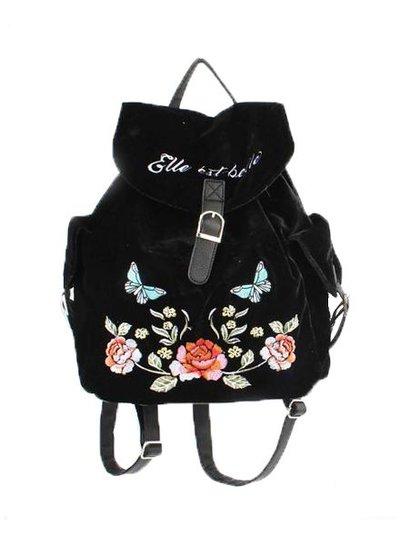 Cool velvet backpack